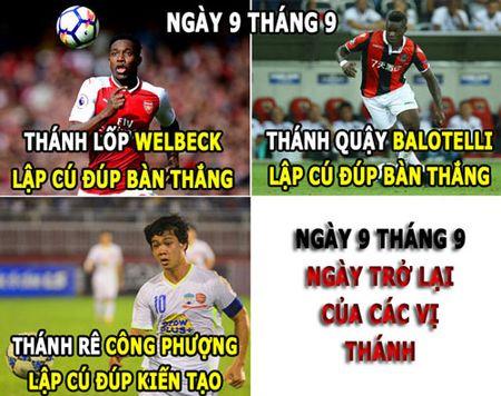 HAU TRUONG (11.9): 'Thanh' Cong Phuong tro lai, M.U tien hoa - Anh 3