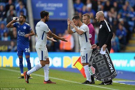 Eden Hazard muon Alvaro Morata dung tot doi chan hon nua - Anh 2