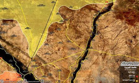 Quan doi Syria chan duong SDF toi thi tran Albu Kamal? - Anh 1