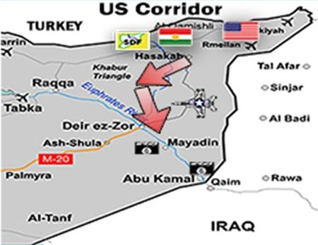 Quan doi Syria chan duong SDF toi thi tran Albu Kamal? - Anh 3