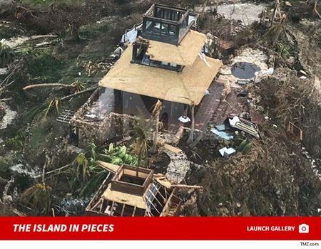 Thien duong cua 'di nhan' Richard Branson tan hoang sau sieu bao Irma - Anh 8