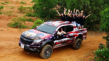 Chevrolet Colorado 'chay' cung Viet Nam Offroad Cup 2017 - Anh 11