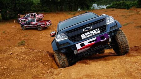 Chevrolet Colorado 'chay' cung Viet Nam Offroad Cup 2017 - Anh 5