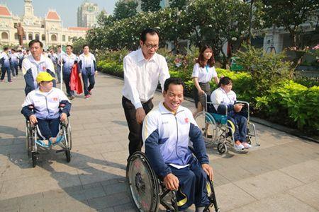 Doan the thao nguoi khuyet tat Viet Nam xuat quan du ASEAN Para Games - Anh 3