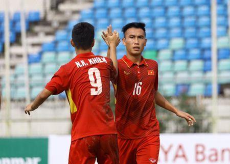 Thang dam U18 Indonesia, U18 Viet Nam vao ban ket U18 Dong Nam A - Anh 1