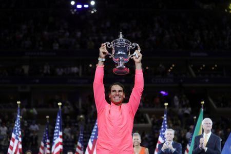 Don ep Kevin Anderson den nghet tho, Rafa Nadal vo dich My mo rong 2017 - Anh 1