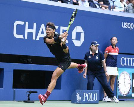 Don ep Kevin Anderson den nghet tho, Rafa Nadal vo dich My mo rong 2017 - Anh 2