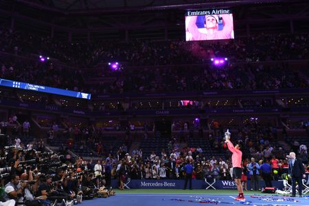 Don ep Kevin Anderson den nghet tho, Rafa Nadal vo dich My mo rong 2017 - Anh 7
