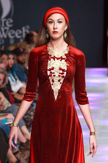 Khai mac New York Couture Fashion Week, NTK Viet tao tieng vang lon - Anh 6