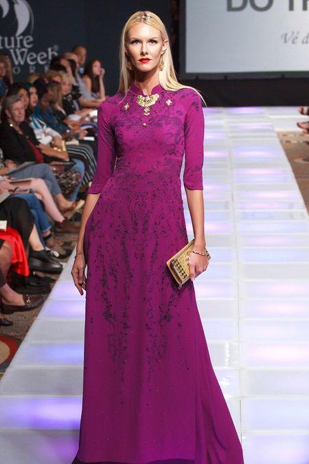 Khai mac New York Couture Fashion Week, NTK Viet tao tieng vang lon - Anh 8