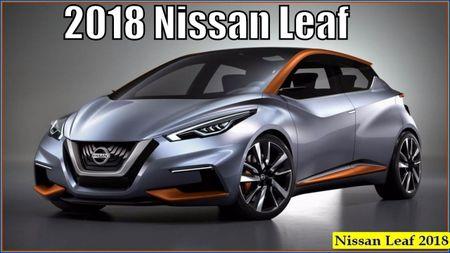 Xe dien Nissan Leaf 2018 doi thu Tesla Model 3 duoc trang bi nhung gi? - Anh 1