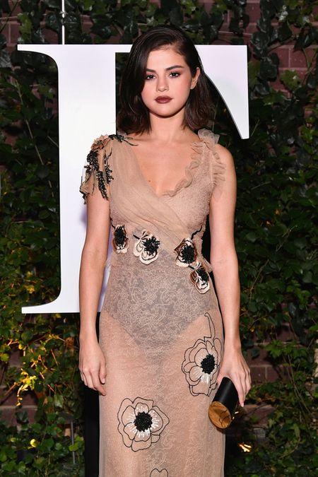 Selena Gomez vo cung xinh dep trong dem tiec voi bo me chong Ha Tang - Anh 2