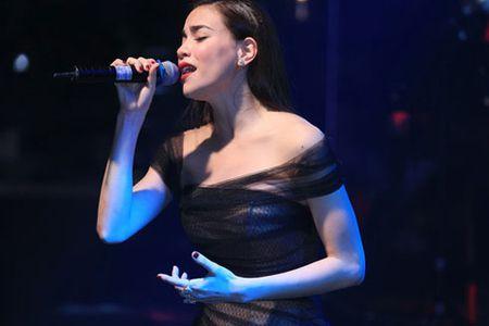 Kim Ly am tham xem Ho Ngoc Ha bieu dien o Ha Noi - Anh 3