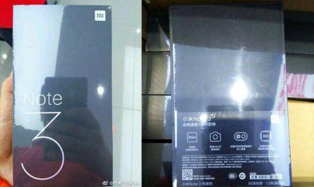 Hop chinh thuc Xiaomi Mi Note 3 lo dien: Snapdragon 660, camera kep va 6GB RAM - Anh 1