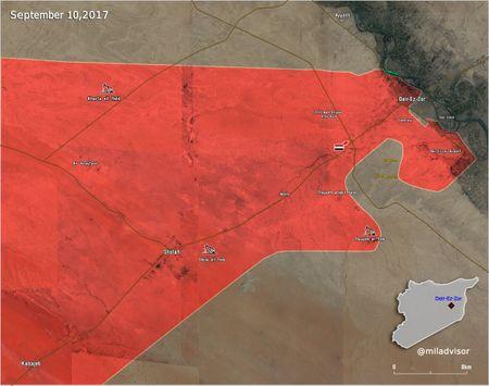 Chien su Syria: Quan Assad quet sach IS, giai phong cao toc Sukhna-Deir Ezzor - Anh 2