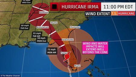 'Quai vat' Irma cuong no khien Florida (My) tan hoang - Anh 2