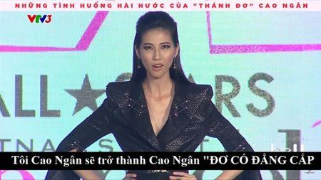 Cuoi ngat voi phat ngon gay choang cua Cao Ngan trong Nextop Model - Anh 1