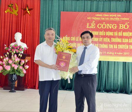 Trao Quyet dinh bo nhiem Giam doc So Thong tin va Truyen thong - Anh 1