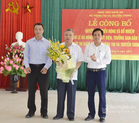 Trao Quyet dinh bo nhiem Giam doc So Thong tin va Truyen thong - Anh 3