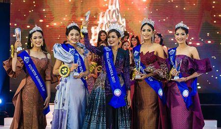 Nhan sac Hoa hau Campuchia 2017 - Anh 3