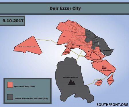 Quan doi Syria noi thong tuyen duong huyet mach cua Deir ez-Zor - Anh 2