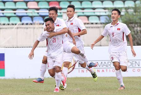 Truc tiep U18 Viet Nam - U18 Indonesia (2-0): Van Nam toa sang voi cu dup - Anh 2