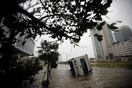 Nguoi Viet o Florida chay bao Irma - Anh 2