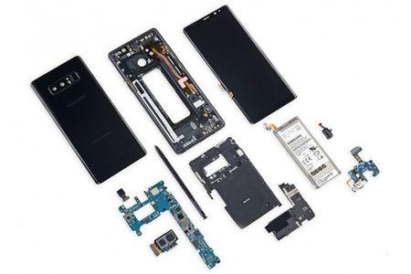 Galaxy Note 8 kho sua khi gap su co - Anh 1