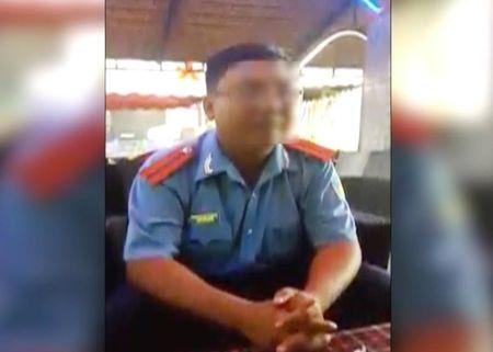 Lam ro clip 1 TTGT Dong Nai thu nhan 'lam luat' - Anh 2