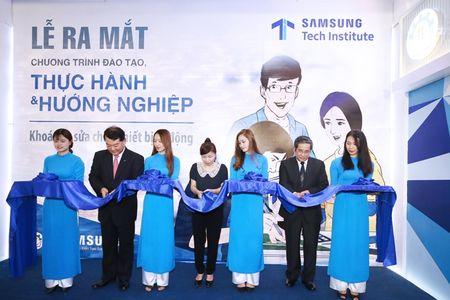 Chuong trinh Dao tao thuc hanh va Huong nghiep- Samsung Tech Institute - Anh 1