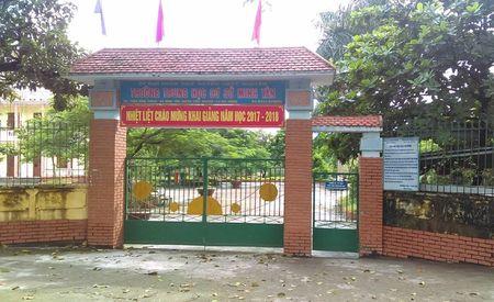 Hai Phong: Dinh chi hieu truong lam thu dau nam - Anh 1