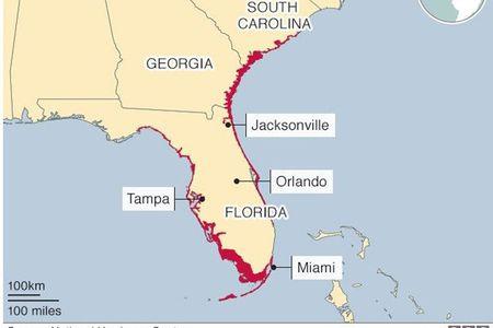 Bao tu than Irma do bo len Florida, gay thuong vong cho nguoi My - Anh 11