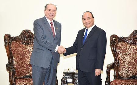 Thu tuong Nguyen Xuan Phuc tiep Bo truong Bo Ngoai giao Brazil - Anh 1