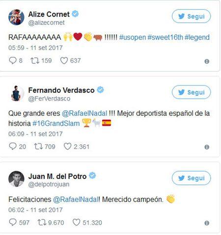 Nadal len dinh US Open, hang loat SAO tennis 'nga mu' - Anh 2
