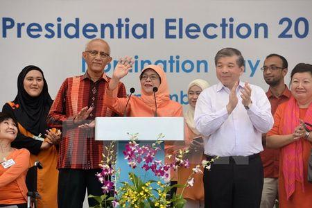 Chu tich nuoc gui dien mung Tong thong Cong hoa Singapore - Anh 1