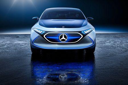 Mercedes-Benz ra mat xe dien EQA voi thiet ke tuong lai - Anh 10
