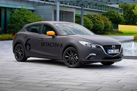 Mazda3 2019 trang bi dong co moi chay thu nghiem - Anh 2