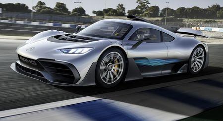 'Quai thu' Mercedes AMG Project One 1.000 ma luc xuat hien - Anh 1