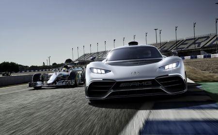 'Quai thu' Mercedes AMG Project One 1.000 ma luc xuat hien - Anh 3