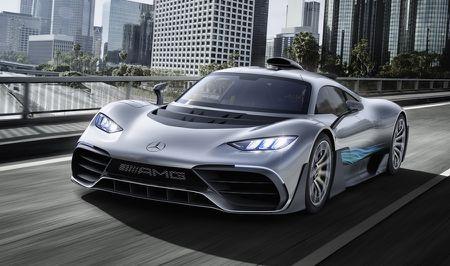 'Quai thu' Mercedes AMG Project One 1.000 ma luc xuat hien - Anh 5