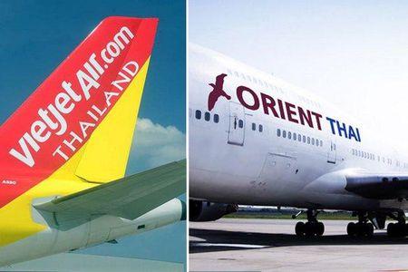 Vietjet Air Thai Lan bi ngung bay chang quoc te - Anh 1