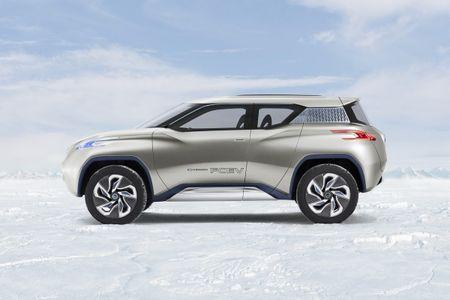 Nissan du kien 'trinh lang' chiec xe dien SUV vao thang 10 - Anh 1