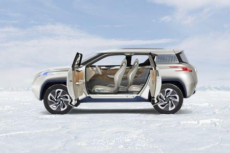 Nissan du kien 'trinh lang' chiec xe dien SUV vao thang 10 - Anh 2