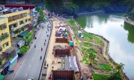 Cong truong tuyen metro 36.000 ty dau tien o Ha Noi - Anh 10