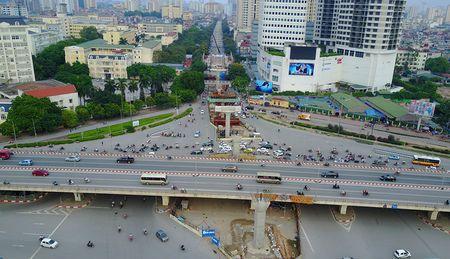 Cong truong tuyen metro 36.000 ty dau tien o Ha Noi - Anh 5