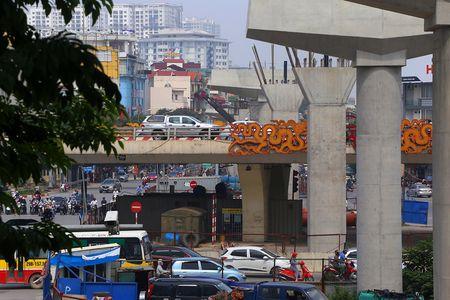 Cong truong tuyen metro 36.000 ty dau tien o Ha Noi - Anh 6