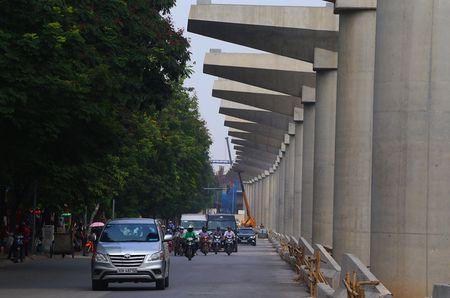 Cong truong tuyen metro 36.000 ty dau tien o Ha Noi - Anh 7