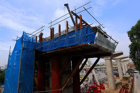 Cong truong tuyen metro 36.000 ty dau tien o Ha Noi - Anh 9