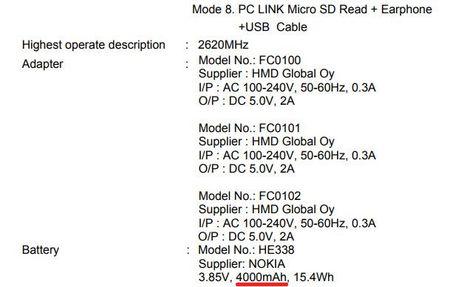 Lo hinh anh Nokia 2 voi pin 4.000 mAh - Anh 3