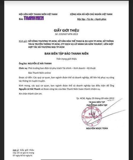 'Tong giam doc STV Nguyen Le Hai Thanh sieu gia mao': Co dau hieu hinh su? - Anh 2